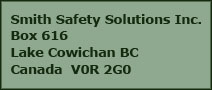 Smith safety solutions address Lake Cowichan BC